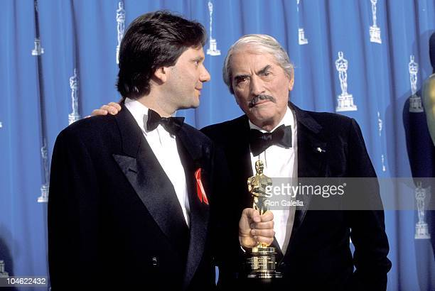 Gregory Peck Sean Ferrer during 65th Annual Academy Awards at Shrine Auditorium in Los Angeles California United States
