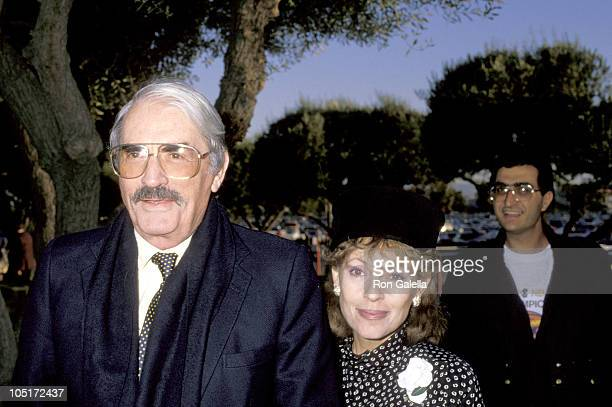 Gregory Peck wife during Hollywood Park's 50th Anniversary All Star Salute at Hollywood Park in Hollywood CA United States