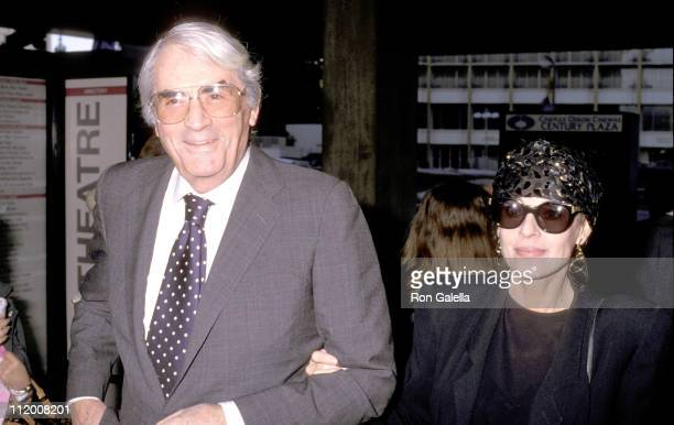 Gregory Peck Wife during 'Lawrence of Arabia' Gala at Century Plaza in Century City California United States