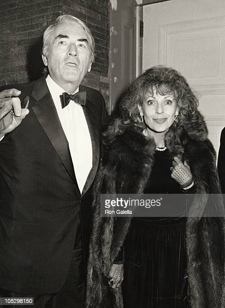 Gregory Peck wife Veronique during Gala Reopening of Carnegie Hall Dinner at Petrossian at Carnegie Hall/Petrossian Restaurant in New York City NY...