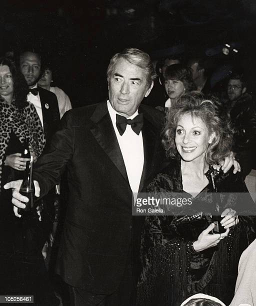 Gregory Peck wife Veronique during 'Hair' Los Angeles Premiere at ABC Center in Los Angeles CA United States