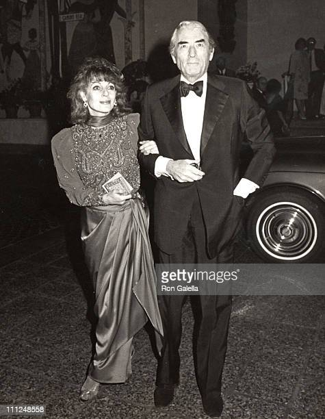 Gregory Peck wife Veronique during Opening of the American Ballet Theater Gala Party at American Ballet Theater/Beverly Wilshire Hotel in Beverly...