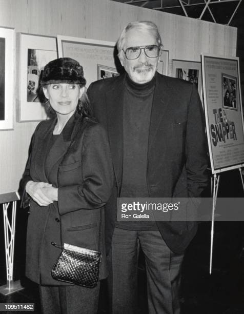 Gregory Peck wife Veronique during Special Screening of 'The Snapper' at The Directors Guild Theater in Los Angeles CA United States
