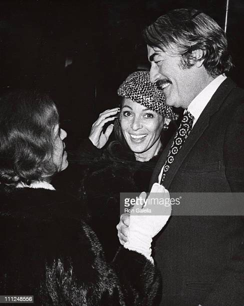 Gregory Peck wife Veronique Radi Harris during Joel Gray Opening at the Empire Room at Waldorf Astoria Hotel in New York City NY United States