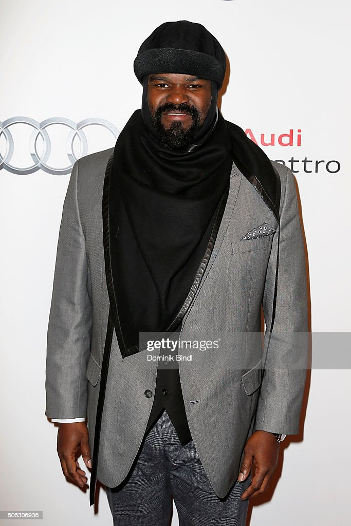 <a gi-track='captionPersonalityLinkClicked' href=/galleries/search?phrase=Gregory+Porter&family=editorial&specificpeople=7494861 ng-click='$event.stopPropagation()'>Gregory Porter</a> attends the Audi Night 2016 at Hotel zur Tenne on January 22, 2016 in Kitzbuehel, Austria.