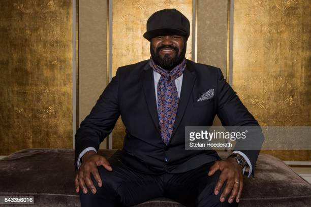 Gregory Porter poses for a photo during Universal Inside 2017 organized by Universal Music Group at MercedesBenz Arena on September 6 2017 in Berlin...