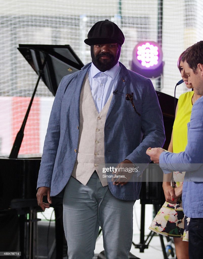 <a gi-track='captionPersonalityLinkClicked' href=/galleries/search?phrase=Gregory+Porter&family=editorial&specificpeople=7494861 ng-click='$event.stopPropagation()'>Gregory Porter</a> sighting outside the BBC on June 11, 2014 in London, England.