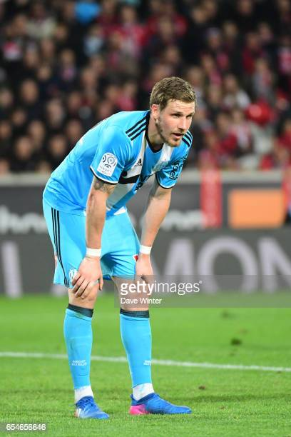 Gregory Sertic of Marseille during the Ligue 1 match between Lille OSC and Olympique de Marseille at Stade Pierre Mauroy on March 17 2017 in Lille...