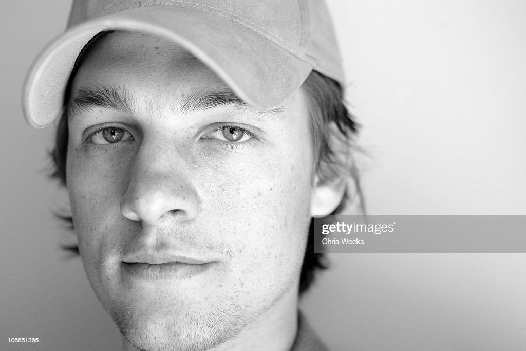 Gregory Smith at Activision St Jude House during 2005 Sundance Film Festival Park City Black White Photography by Chris Weeks in Park City Utah...