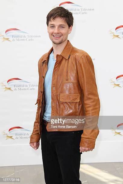 Gregory Smith attends Photocall for 'Rookie Blue' during the 51st Monte Carlo TV Festival on June 9 2011 in Monaco Monaco