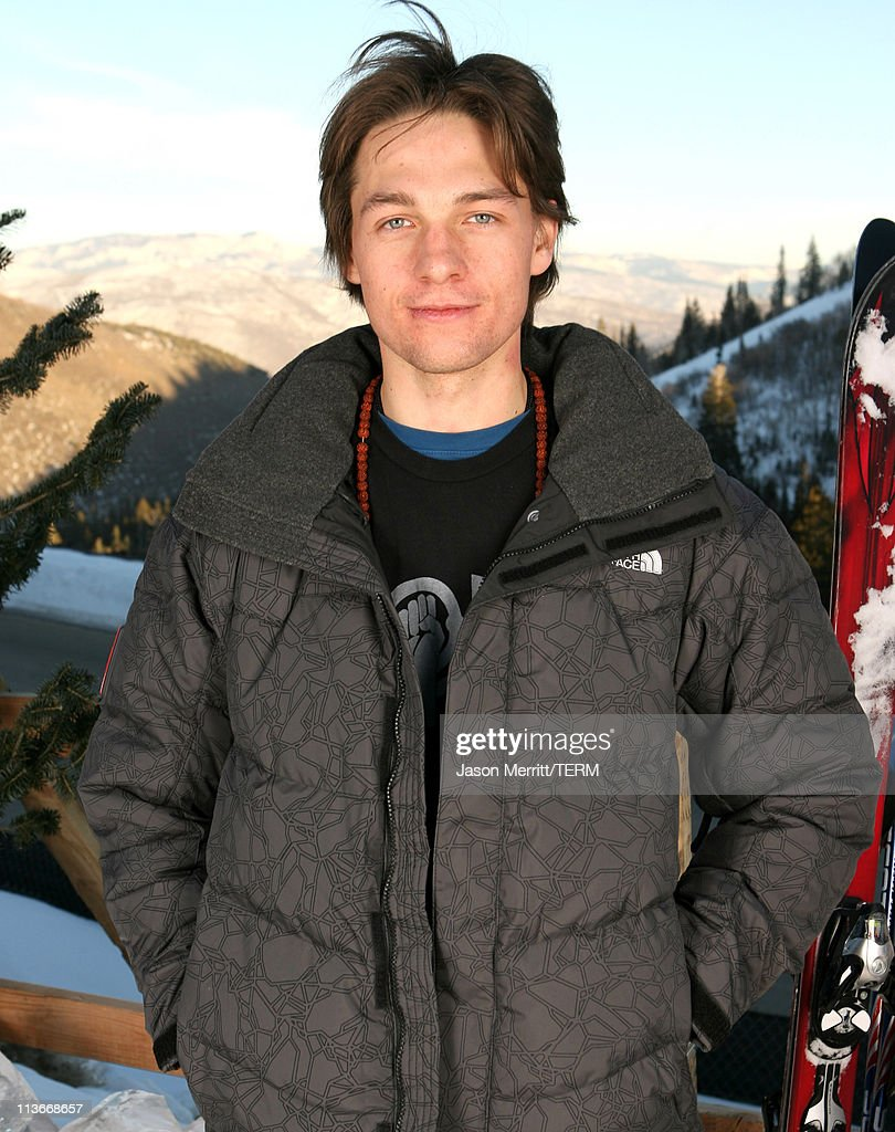 Gregory Smith wearing The North Face at The Ice Lounge presented by The North Face Lexus and St Regis*Exclusive*