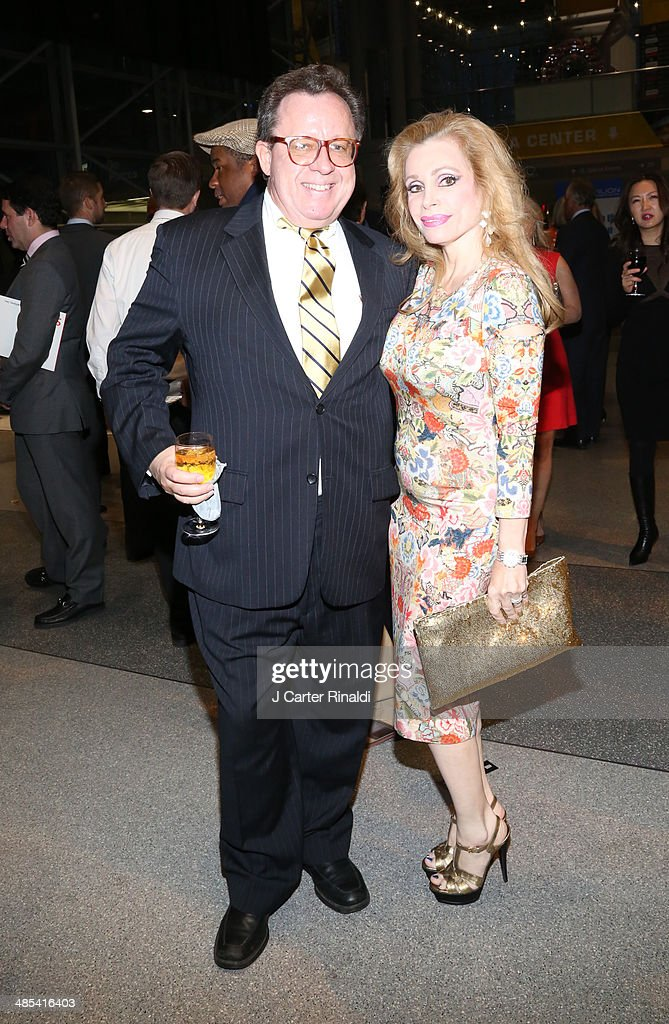 Gregory Speck and Joy Marks attend the East Side House Gala Preview during the 2014 New York Auto Show at the Jacob Javits Center on April 17, 2014 in New York City.