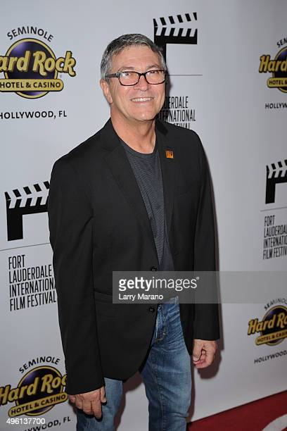 Gregory Von Hausch attends the Fort Lauderdale International Film Festival Opening Night at Seminole Hard Rock Hotel on November 6 2015 in Hollywood...