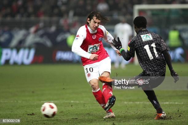 Gregorz KRYCHOWIAK / Eric MOULOUNGUI Reims / Nice 1/4 finale Coupe de France