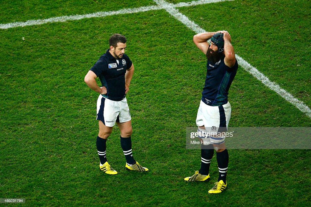 Australia v Scotland - Quarter Final: Rugby World Cup 2015
