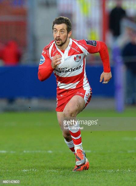 Greig Laidlaw of Gloucester Rugby during the European Rugby Challenge Cup match between Gloucester Rugby and Zebre at Kingsholm Stadium on December 7...