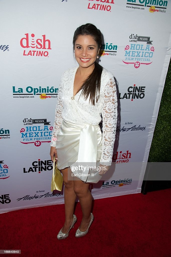 Greisy Mena attends the 2013 Hola Mexico Film Festivals Opening Night Gala at Los Angeles Theatre on May 15 2013 in Los Angeles California