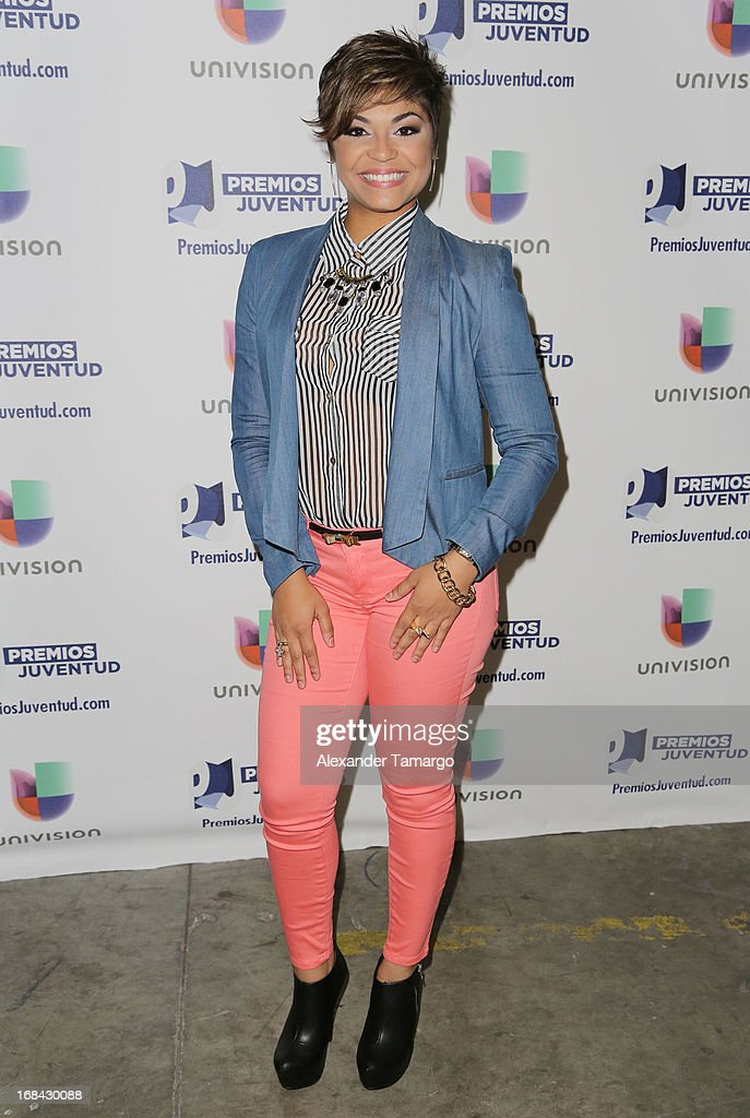 Gremal Maldonado attends Univisions Premios Juventud Awards Nominees press conference at Univision Headquarters on May 9, 2013 in Miami, Florida.