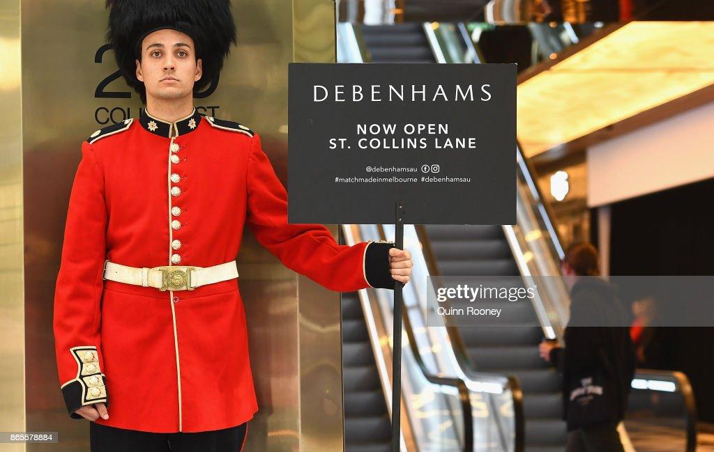 British Retailer Debenhams Opens First Australian Store