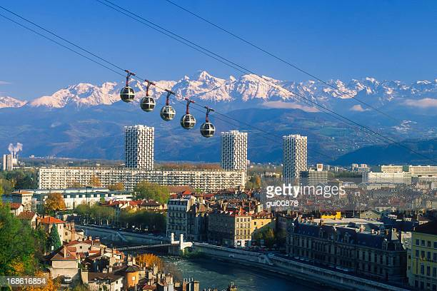 Grenoble cable car