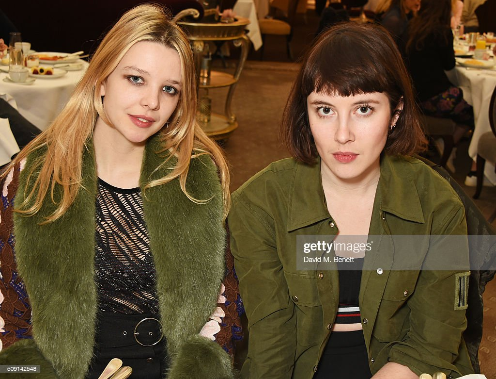 Greta Bellamacina (L) and Paula Goldstein attend the Hoping Breakfast for Palestinian refugee children at Harrods on February 9, 2016 in London, England.