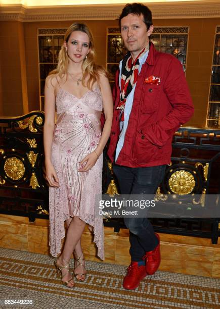 Greta Bellamacina and Robert Montgomery attend '8 Years Of My Life' an intimate evening of music with Rosey Chan hosted by Rosey Chan and Client...