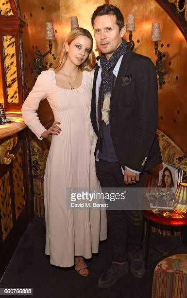 Greta Bellamacina and Robert Montgomery attend as The Ingenue celebrates the launch of its 5th issue at Loulou's 5 Hertford Street on March 30 2017...