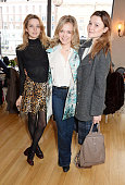 Greta Bellamacina Poppy Jamie and Amber Atherton attend 'Affirmation Mondays' hosted by Poppy Jamie and Greta Bellamacina at Aubaine on January 26...