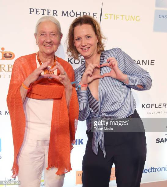 Greta Blunck and Jenny FalckenbergBlunck attend the Charity Evening 'Das kleine Herz im Zentrum' at Curio Haus on June 22 2017 in Hamburg Germany