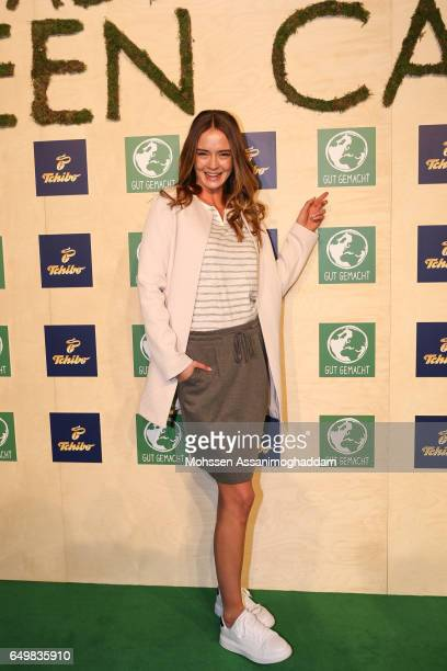 Greta Faeser attends the Green Carpet Event of Tchibo on March 8 2017 in Hamburg Germany