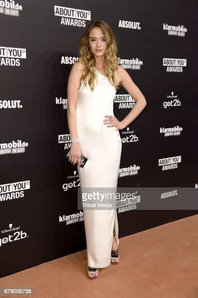 Greta Faser attends the About You Awards on May 4 2017 in Hamburg Germany
