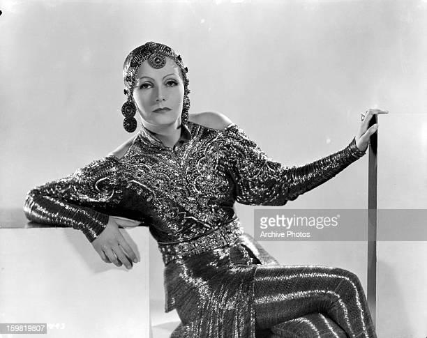 Greta Garbo in publicity portrait for the film 'Mata Hari' 1931
