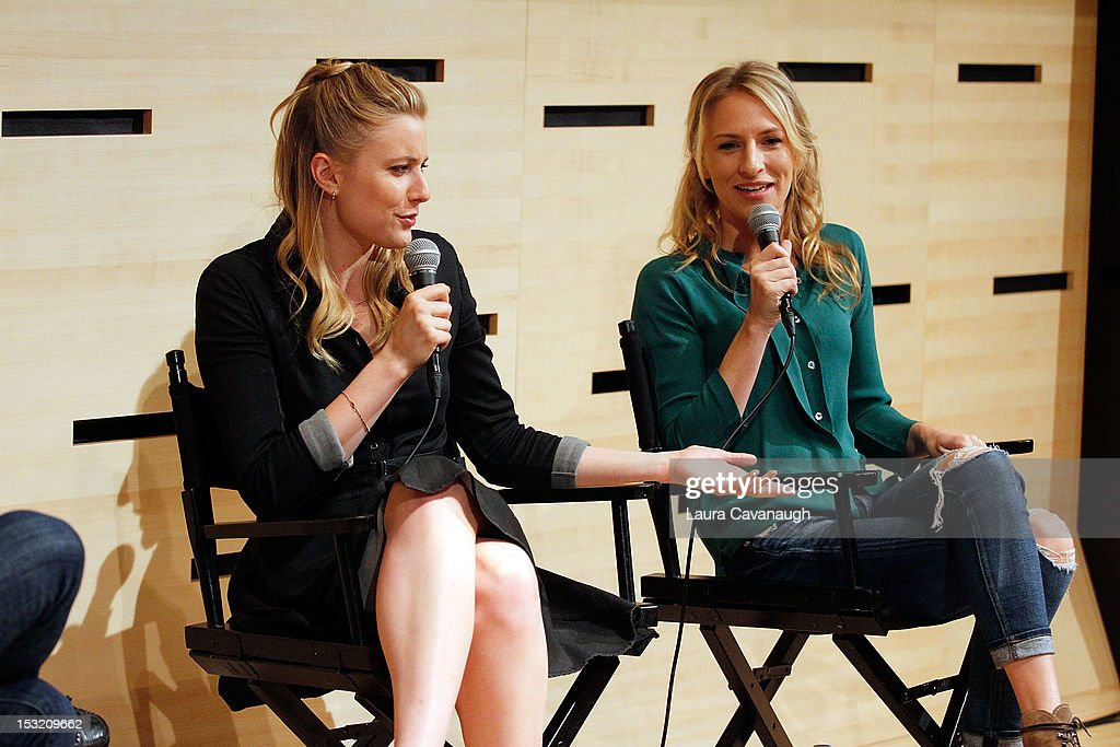 <a gi-track='captionPersonalityLinkClicked' href=/galleries/search?phrase=Greta+Gerwig&family=editorial&specificpeople=4249808 ng-click='$event.stopPropagation()'>Greta Gerwig</a> and Mickey Sumner attend the 50th annual New York Film Festival Live Talks at the Elinor Bunin Munroe Film Center on October 1, 2012 in New York City.