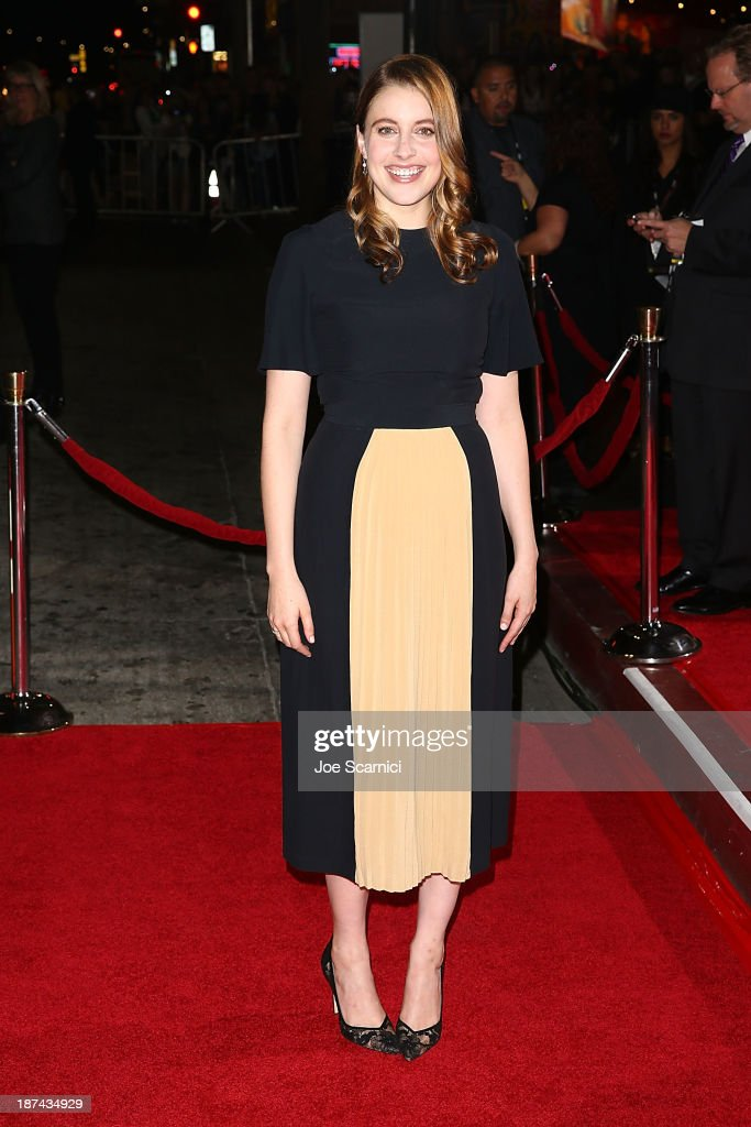 <a gi-track='captionPersonalityLinkClicked' href=/galleries/search?phrase=Greta+Gerwig&family=editorial&specificpeople=4249808 ng-click='$event.stopPropagation()'>Greta Gerwig</a> arrives at the AFI FEST 2013 Presented By Audi - Los Angeles Times Young Hollywood Roundtable at TCL Chinese Theatre on November 8, 2013 in Hollywood, California.