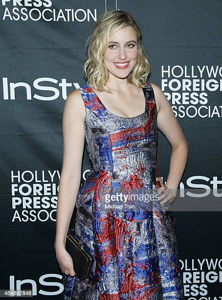 Greta Gerwig arrives at the HFPA InStyle's 2014 TIFF Celebration held during the 2014 Toronto International Film Festival on September 6 2014 in...