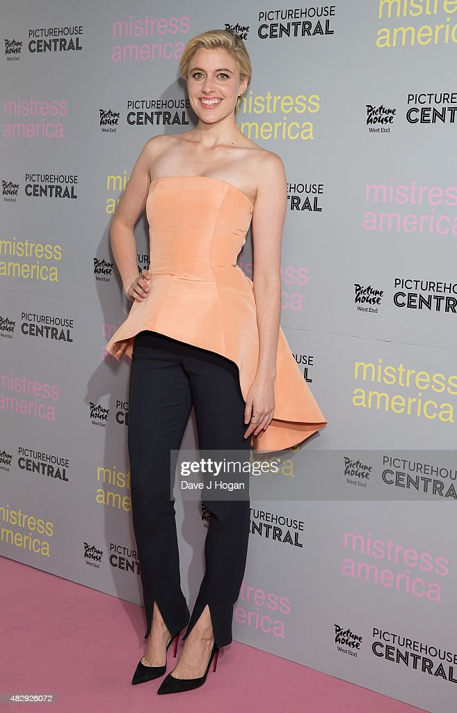 <a gi-track='captionPersonalityLinkClicked' href=/galleries/search?phrase=Greta+Gerwig&family=editorial&specificpeople=4249808 ng-click='$event.stopPropagation()'>Greta Gerwig</a> attends a photocall for 'Mistress America' at Picturehouse Central on August 4, 2015 in London, England.