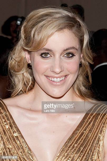 Greta Gerwig attends 'American Woman Fashioning A National Identity' Costume Institute Gala at The Metropolitan Museum of Art in New York City