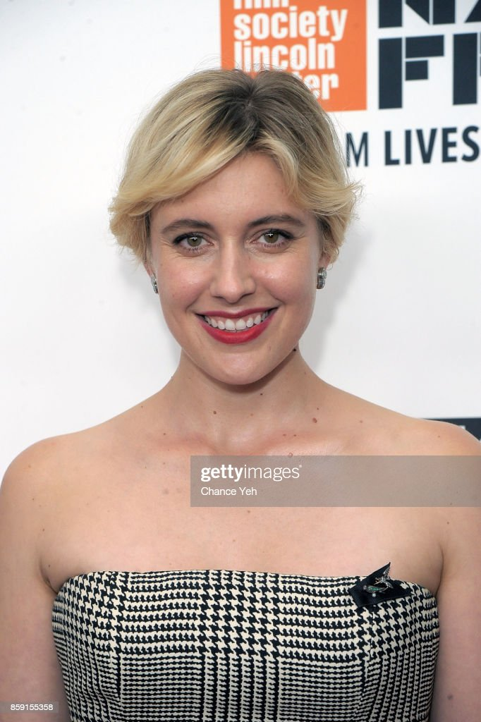 Greta Gerwig attends 'Lady Bird' screening during 55th New York Film Festival at Alice Tully Hall on October 8, 2017 in New York City.