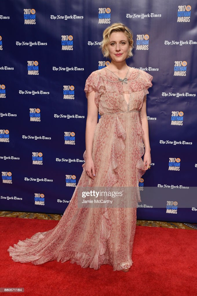 Greta Gerwig attends the 2017 IFP Gotham Awards at Cipriani Wall Street on November 27, 2017 in New York City.