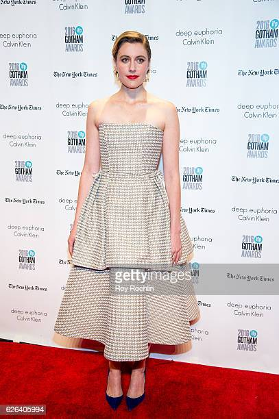 Greta Gerwig attends the 26th Annual Gotham Independent Film Awards at Cipriani Wall Street on November 28 2016 in New York City