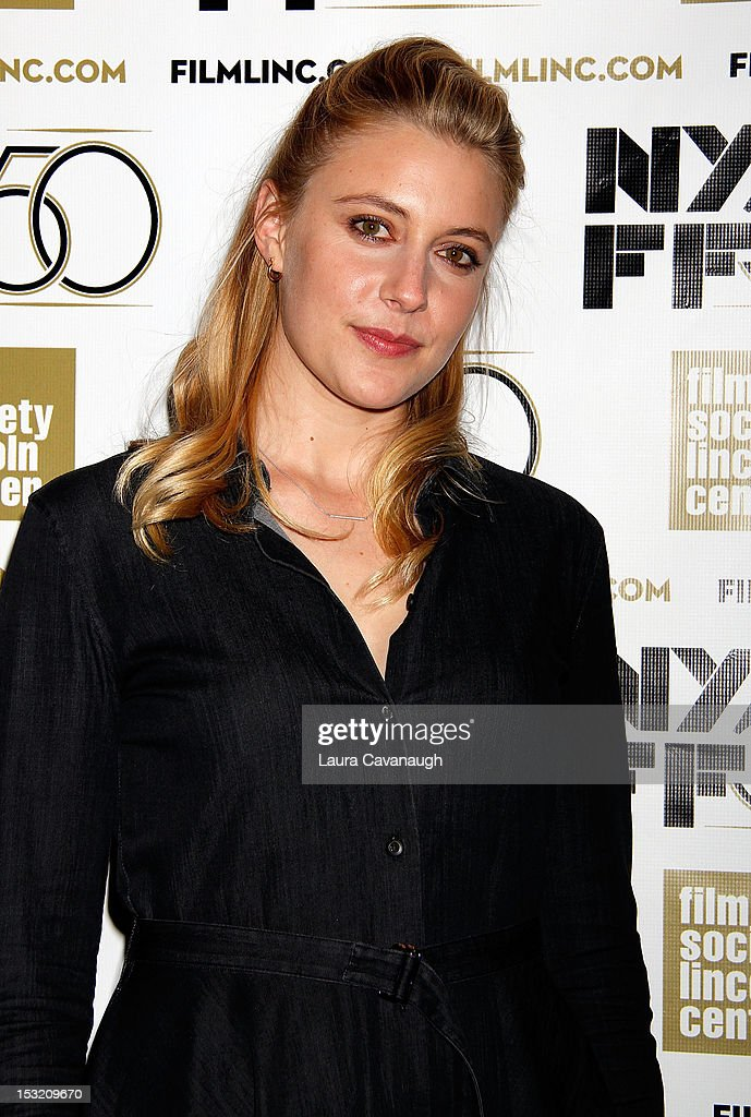 <a gi-track='captionPersonalityLinkClicked' href=/galleries/search?phrase=Greta+Gerwig&family=editorial&specificpeople=4249808 ng-click='$event.stopPropagation()'>Greta Gerwig</a> attends the 50th annual New York Film Festival Live Talks at the Elinor Bunin Munroe Film Center on October 1, 2012 in New York City.