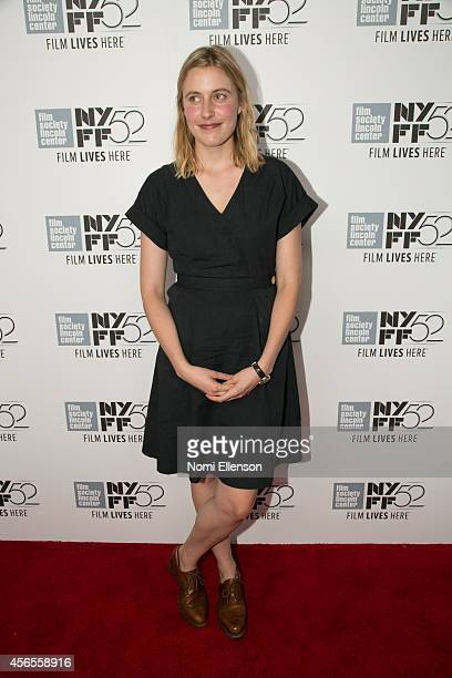 Greta Gerwig attends the 52nd New York Film Festival at Alice Tully Hall on October 2 2014 in New York City