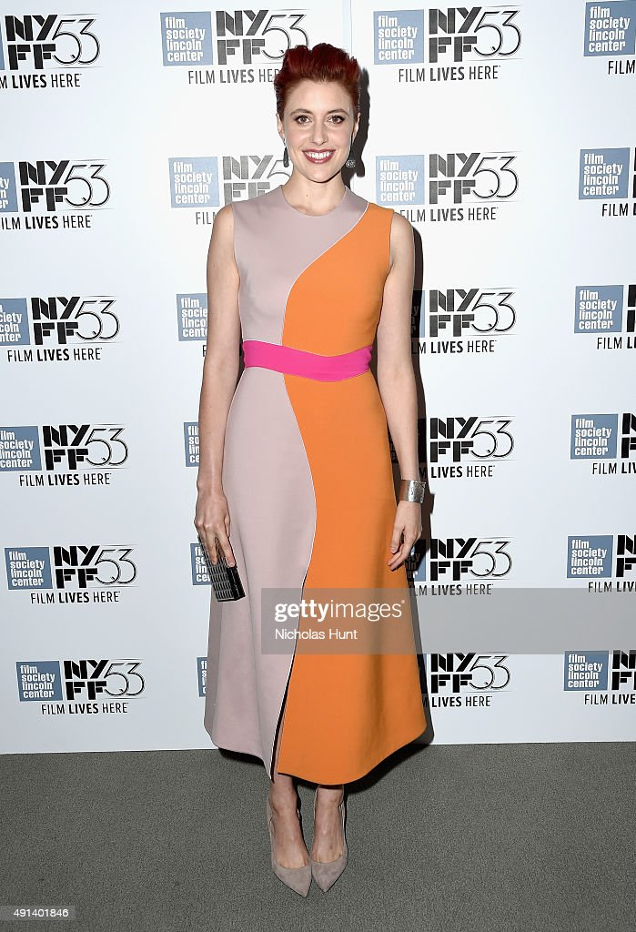 <a gi-track='captionPersonalityLinkClicked' href=/galleries/search?phrase=Greta+Gerwig&family=editorial&specificpeople=4249808 ng-click='$event.stopPropagation()'>Greta Gerwig</a> attends the 53rd New York Film Festival - 'Maggie's Plan' - Arrivals at Alice Tully Hall, Lincoln Center on October 4, 2015 in New York City.