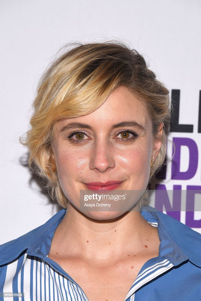 Greta Gerwig attends the Film Independent at LACMA presents 'Lady Bird' screening and Q&A at Bing Theater At LACMA on November 2, 2017 in Los Angeles, California.