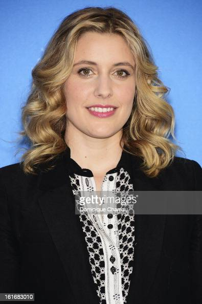 Greta Gerwig attends the 'Frances Ha' Photocall during the 63rd Berlinale International Film Festival at the Grand Hyatt Hotel on February 14 2013 in...