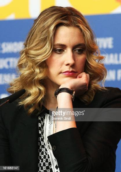 Greta Gerwig attends the 'Frances Ha' Press Conference during the 63rd Berlinale International Film Festival at the Grand Hyatt Hotel on February 14...