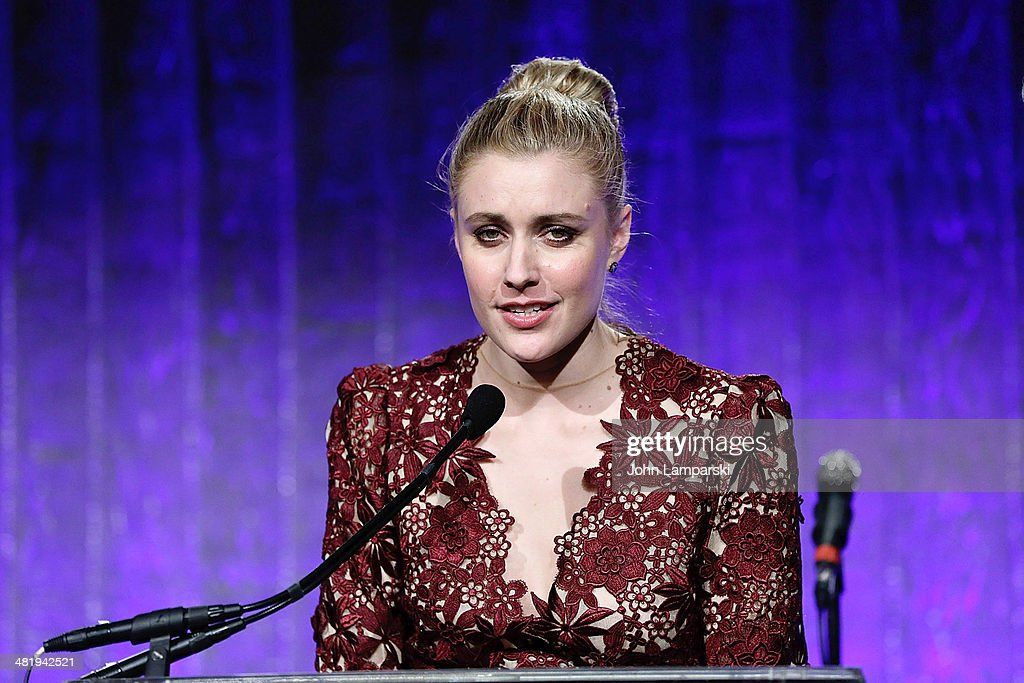 <a gi-track='captionPersonalityLinkClicked' href=/galleries/search?phrase=Greta+Gerwig&family=editorial&specificpeople=4249808 ng-click='$event.stopPropagation()'>Greta Gerwig</a> attends The New Museum Annual Spring Gala at Cipriani Wall Street on April 1, 2014 in New York City.