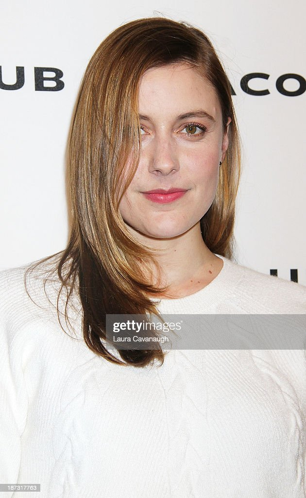 <a gi-track='captionPersonalityLinkClicked' href=/galleries/search?phrase=Greta+Gerwig&family=editorial&specificpeople=4249808 ng-click='$event.stopPropagation()'>Greta Gerwig</a> attends the opening celebration of Club Monoco's Fifth Avenue Flagship at Club Monaco Fifth Avenue on November 7, 2013 in New York City.