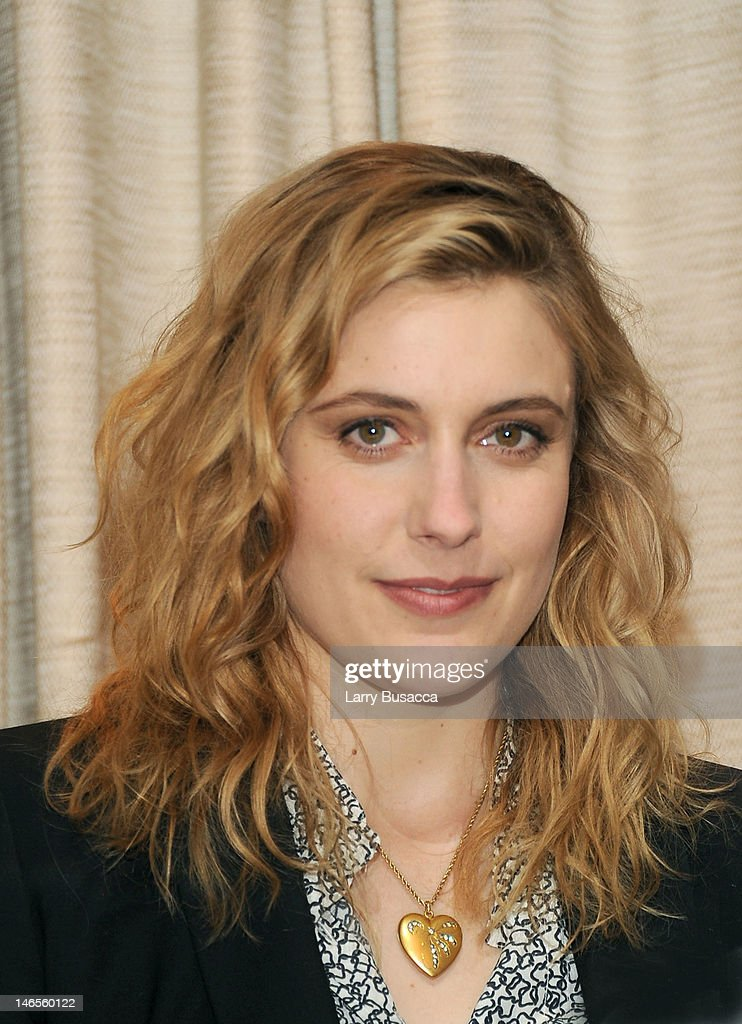 Greta Gerwig attends the 'To Rome With Love' Press Conference on June 19, 2012 in New York City.
