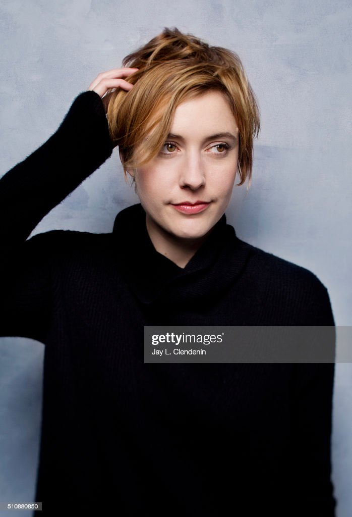 Greta Gerwig from the film 'Weiner Dog' poses for a portrait at the 2016 Sundance Film Festival on January 24, 2016 in Park City, Utah.